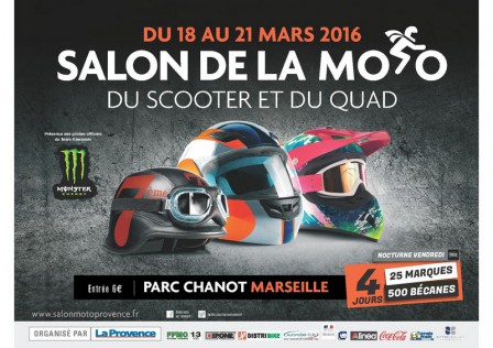 Salon de la moto du scooter et du quad 2016 f d ration for Salon de la photo 2016